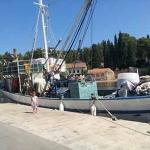 Dora in ribiška ladja Bako