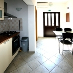 Kuhinja v apartmaju št.4