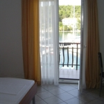 Pogled iz sobe v apartmaju št.4